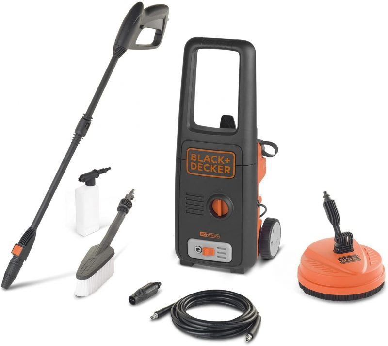 BXPW1400PE: Le nettoyeur haute pression Black et Decker le moins cher