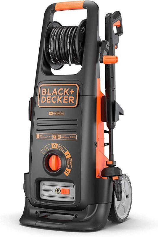 Le nettoyeur haute pression Black et Decker le plus puissant, BXPW2500DTS