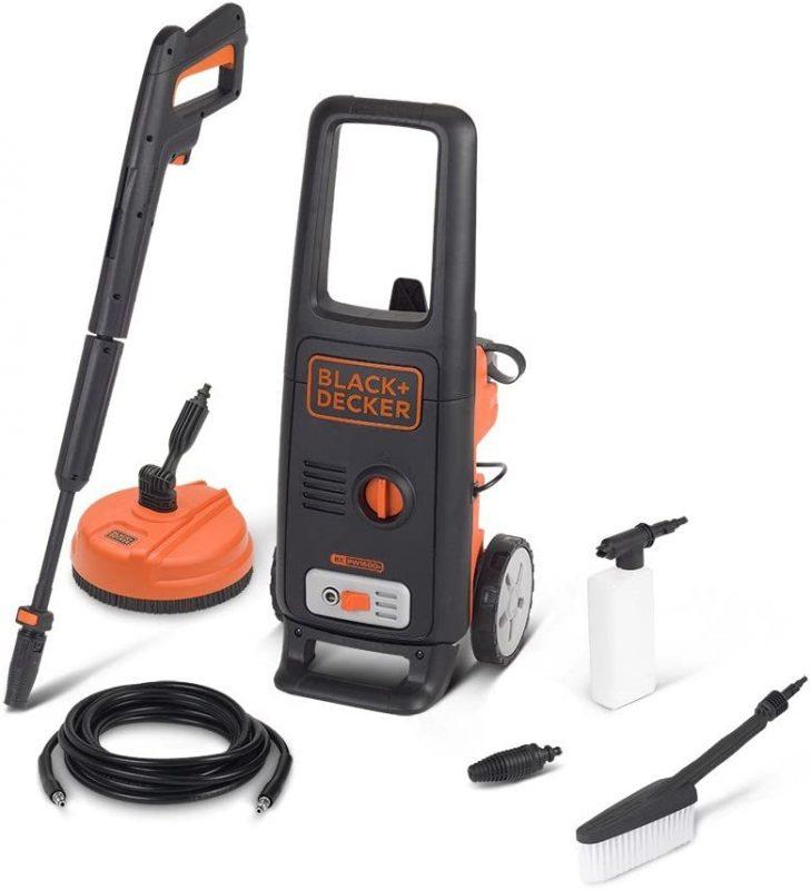 BXPW1600PE, le nettoyeur haute pression Black et Decker le plus vendu